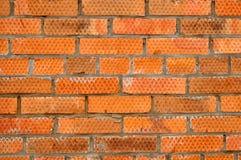 Fragment d'un mur de briques Image libre de droits