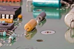 Fragment d'un paiement radioélectronique Photo stock