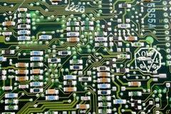 Fragment d'un vieux panneau d'ordinateur. Images libres de droits