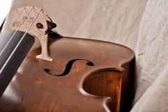 Fragment d'un violoncelle Photo libre de droits
