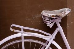 Fragment d'une vieille bicyclette Photo libre de droits
