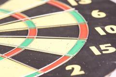 Fragment of darts board Royalty Free Stock Image