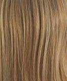 Fragment de cheveux comme composition en fond Photographie stock libre de droits