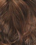 Fragment de cheveux comme composition en fond Images libres de droits