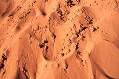 Fragment de dune de sable Photo stock