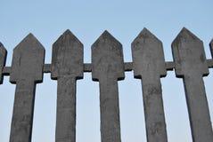Fragment de frontière de sécurité de fer de moulage photos libres de droits