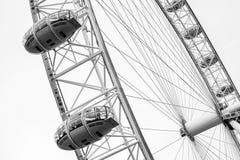 Fragment de grande roue géante de London Eye photographie stock libre de droits