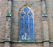 Fragment de la construction Frettes de l'église de St Paul Nde de ¼ de la ville BÃ l'allemagne photos stock