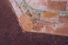 fragment de la maçonnerie antique photos libres de droits
