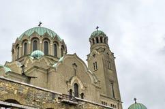 Fragment de la nativité de cathédrale de la Vierge Images stock