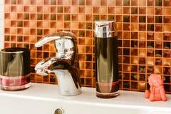 Fragment de la salle de bains intérieure Image stock