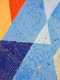 fragment de la vieille mosaïque des périodes soviétiques sur le mur en Russie Images libres de droits