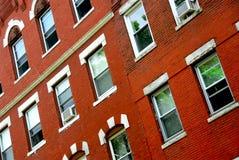 Fragment de maison de Boston Photos stock