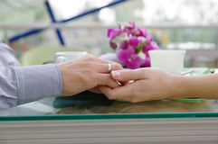 Fragment de mariage Images libres de droits