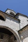 Fragment de monastère dans Tsetine Images libres de droits