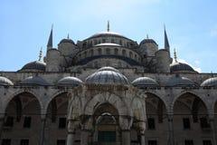 Fragment de mosquée bleue Photo libre de droits