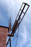Fragment de moulin à vent antique Photo stock
