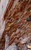 Fragment de mur de briques Photo stock
