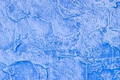 Fragment de mur peint texturisé Photos stock