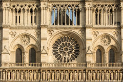 Fragment de Notre Dame Photo stock