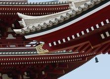 Fragment de pagoda dans le style authentique image stock