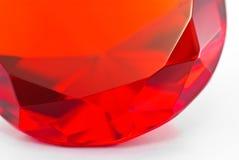 Fragment de pierre gemme rouge photos stock
