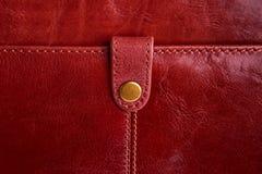 Fragment de sac en cuir. Images libres de droits