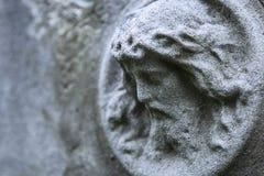 Fragment de statue antique Jesus Christ comme symbole de l'amour, fai Photo libre de droits