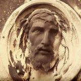 Fragment de statue antique Jesus Christ comme symbole de l'amour, fai Image libre de droits