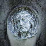 Fragment de statue antique Jesus Christ comme symbole de l'amour, fai Photos stock