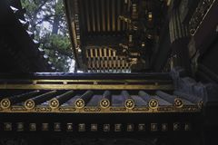 Fragment de temple Image libre de droits