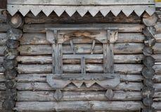 Fragment de vieille Chambre en bois images libres de droits