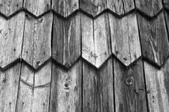 Fragment de vieille Chambre en bois toned photos libres de droits