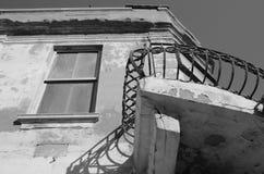 Fragment de vieille maison Image libre de droits
