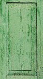 Fragment de vieille porte peinte Photographie stock libre de droits