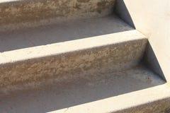 Fragment de vieilles étapes en pierre Photo stock