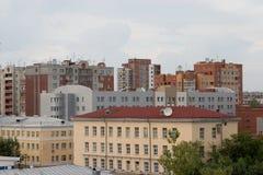 Fragment de ville. Image libre de droits