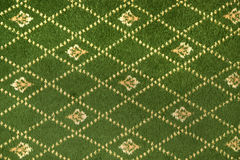 Fragment of decorative carpet fabric pattern Royalty Free Stock Photo