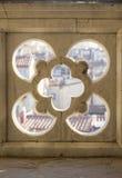 Fragment of decorative parapet Royalty Free Stock Image