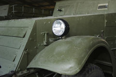 Fragment der alten Kriegsmaschine Lizenzfreies Stockbild