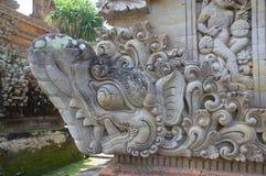 Fragment der Dekoration des Tempels Lizenzfreies Stockfoto