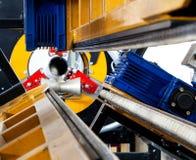 Fragment der industriellen Maschine Stockfotografie