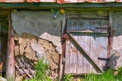 Fragment der rustikalen Architektur lizenzfreie stockfotografie
