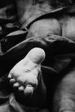 Fragment der Statue Achilles Heel Lizenzfreie Stockfotografie