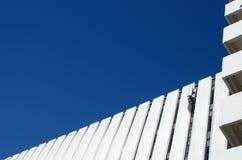 Fragment der Wand auf der Fassade des Gebäudes Lizenzfreie Stockfotos