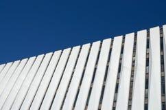 Fragment der Wand auf der Fassade des Gebäudes Lizenzfreies Stockbild
