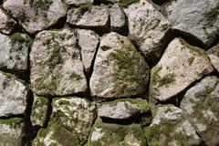 Fragment der Wand, die von den Steinen ausgebreitet wird Beschaffenheit, BAC Stockbilder