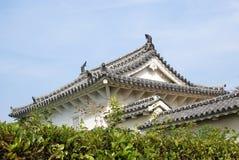 Fragment des Himeji-Schlosses stockfotografie
