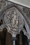 Fragment des Innenraums von Westminster Abbey, London Stockfotografie