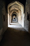 Fragment des ruines de Bhangarh au Ràjasthàn, Inde, il est l'un des endroits les plus hantés sur terre Images libres de droits